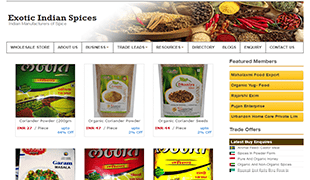 Exotic Indian Spices